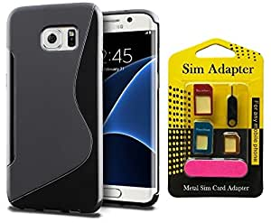 Super Saver Combo Offer Buy Wellmart Back Case Cover For Samsung Galaxy S7 edge And Get Free Metal Sim Card Adapter