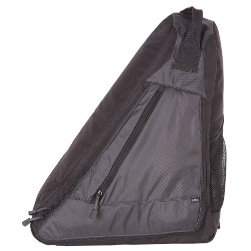 B0026A1Q82 5.11 Select Carry Sling Pack, Black/Charcoal