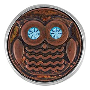Ginger Snaps Owl Be Watching You Interchangeable Fashion Snap