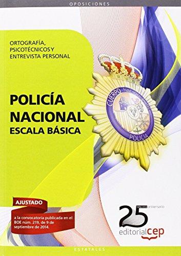 PSICOTECNICO ESCALA BASICA POLICIA NACIONAL 2014