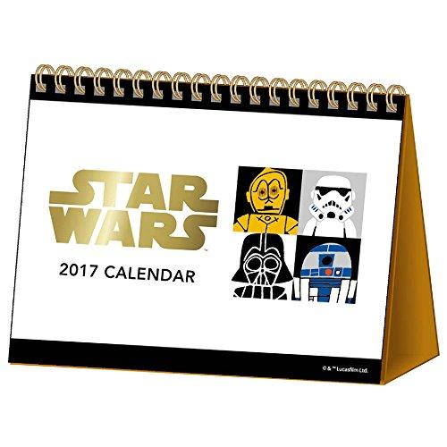 サンスター 2017年 カレンダー スターウォーズ 卓上 S8515271