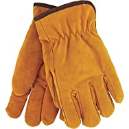 Mens Lined Leather Winter Work Glove-LRG LEATHER LINED GLOVE