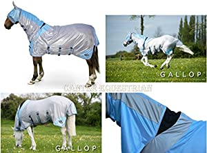 Gallop 4 In 1 Full Combo Fly Rug & Mask Size 5'3