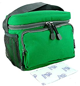 Everest Insulated Lunch Tote Cooler Bag with 8 oz Freezer Ice Pack. Reusable for Kids, Teens, and Adults.