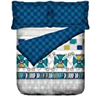 Blue Bedsheet Set & Duvet Cover