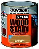 Ronseal 5 Year Woodstain 750ml Natural Oak