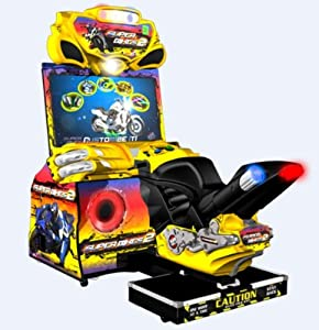 Betson Super Bike 2 Deluxe Arcade Game Machine