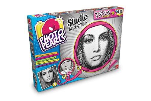 PhotoPearls - 7500 Black & white, juego para crear mosaicos con rejilla (Goliath 35886006)