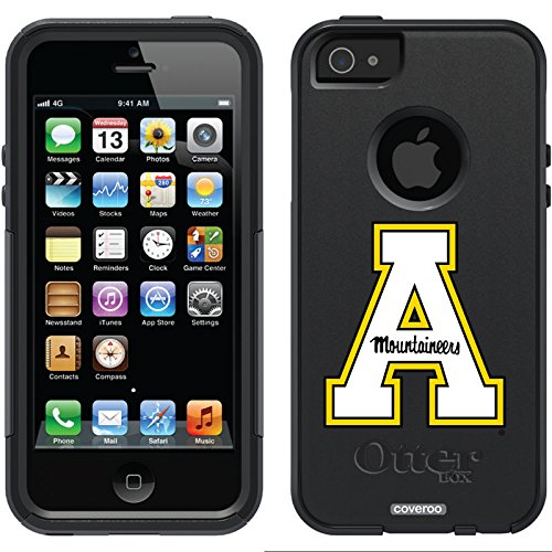 Appalachian State A Design On A Black Otterbox® Commuter Series® Case For Iphone 5S / 5