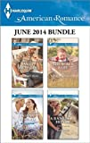 Harlequin American Romance June 2014 Bundle: Her Cowboy Hero\The Texans Baby\The SEALs Baby\A Ranchers Honor