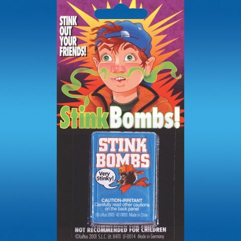 Stink Bombs Carded (3 per package) - 1