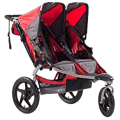 BOB Stroller Strides Duallie Fitness Stroller, Red by BOB