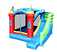 Bounceland Royal Palace Bounce House Bouncer with Slide by Bounceland