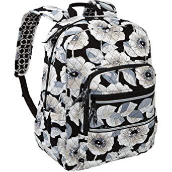 vera bradley campus backpack as diaper bag. Black Bedroom Furniture Sets. Home Design Ideas