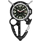 Dakota Multi-Tool Clip Watch Black (Color: Black, Tamaño: One Size)