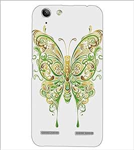 PrintDhaba Butterfly D-5360 Back Case Cover for LENOVO VIBE K5 (Multi-Coloured)