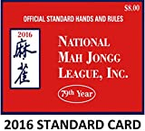 The one and only National Mah Jongg League official 2016 Hands and Rules Scorecard. To be released on April 15th, 2016. Now in its 79th year, the National Mah Jongg League is the central authority on mahjong rules and scoring in the United States. For American mahjong players getting the new mahjong scorecard is a yearly ritual that keeps the game fresh. If you play mahjong with American rules, this is the one and only scorecard to have.