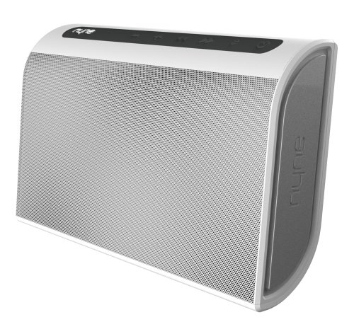 Nyne Multimedia Inc Tt Portable Bluetooth Speaker (White/Grey)
