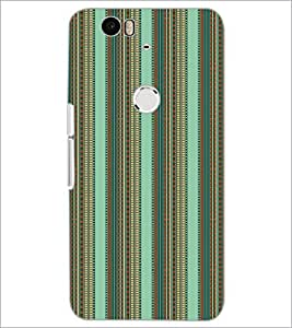 PrintDhaba Pattern D-5218 Back Case Cover for HUAWEI NEXUS 6P (Multi-Coloured)