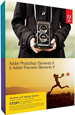 Adobe Photoshop & Premiere Elements 11 Student and Teacher* WIN & MAC