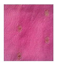 Chandari Women's Cotton Unstitched Fabrics (HK-126_Pink_Free Size)