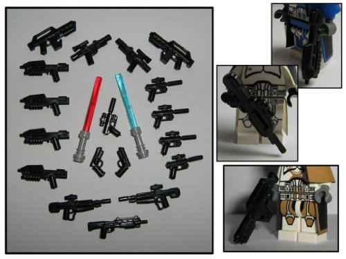 lego star wars customs figuren und waffen selber machen. Black Bedroom Furniture Sets. Home Design Ideas
