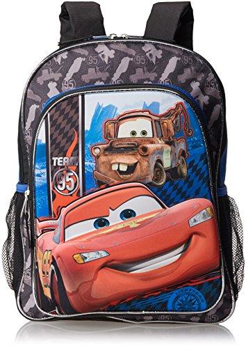 Fast Forward Boys Little Boys' Cars 3D Eva Molded Backpack, Blue/Black, 16x12x5