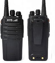 Walkie Talkies 10W 70CM HYS TC-P10W UHF 400-480 MHz 16CH Scrambler 2 Way Radio Handheld Transceiver