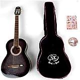 Gypsy rose - Guitare classique - Pack guitare classique noire 7/8 ggy grc1k/n