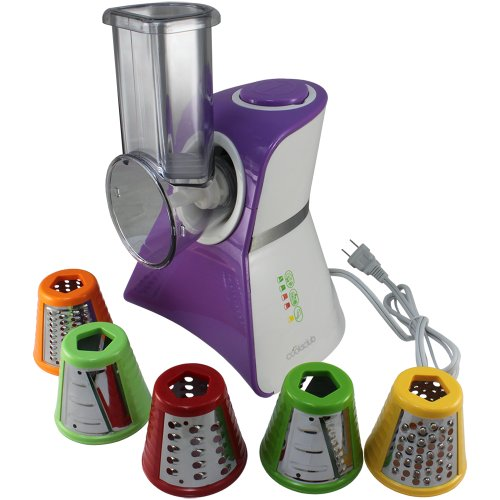 Cooks Club USA VC02SPU Salad Maker Food Processor, Mini, Purple (Food Processor Cooks compare prices)