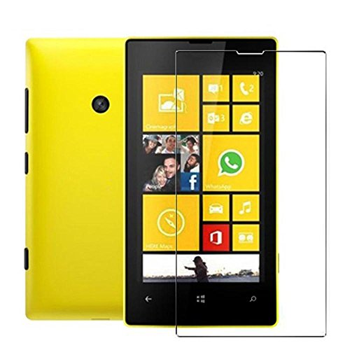 Amjimshop(Tm) 3X Anti-Scratch Clear Lcd Screen Protector Film Guard For Nokia Lumia 520