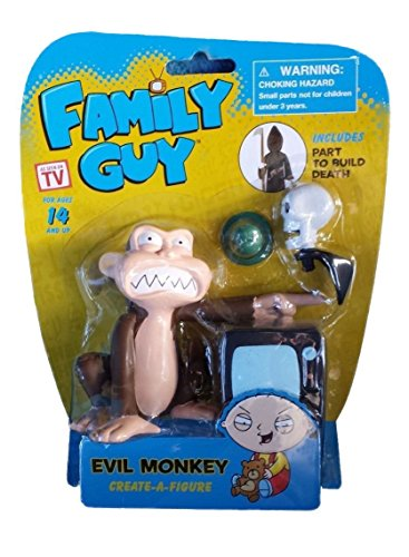 Family Guy Evil Monkey Create-A-Figure