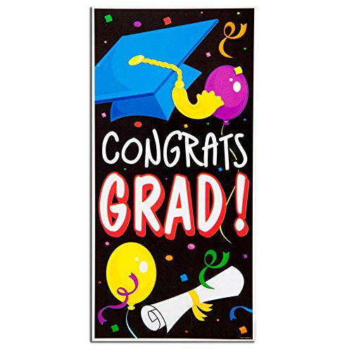 """Congrats Grad"" Door Cover"