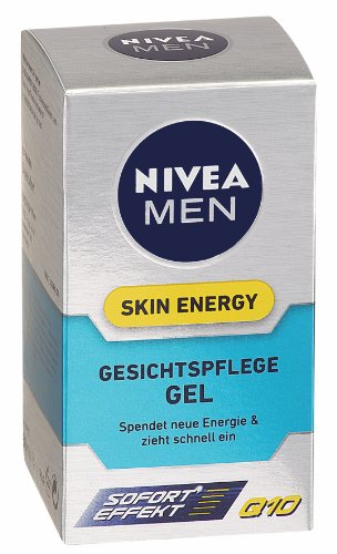 Nivea Men Skin Energy Feuchtigkeits Gel 50 ml, Q10