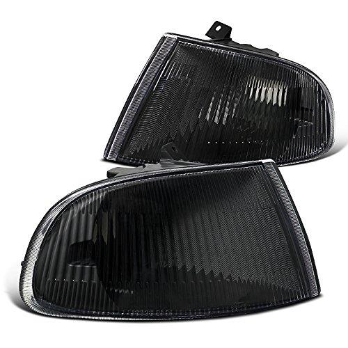 Spec-D Tuning LC-CV923JM-V2-RS Honda Civic 2/3Dr Black Corner Turn Signal Lights (Honda Civic 92 95 Headlights compare prices)