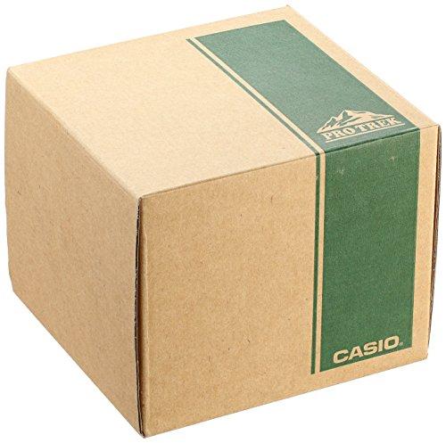 卡西欧Casio Protrek系列 PRW2500T-7 3感应器/6局电波 经典钛合金户外登山表图片