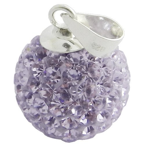 925 8MM Silver Tanzanite Crystal Pendant Jewelry (Confederate Flag Belly Ring compare prices)
