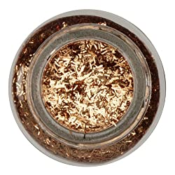 Martha Stewart Tinsel Glitter 1 oz Copper By The Each
