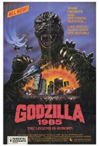 (27x40) Godzilla 1985 Movie Poster