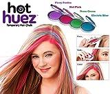 Swarish Set of 4 Colors Temporary Hair Chalk Hot Huez