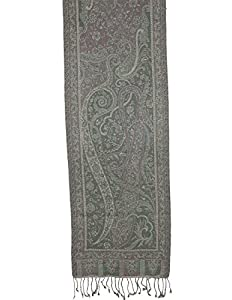 Men Scarf Wool Accessories Neck Paisley Design Gifts For Grand Father Indian Dress