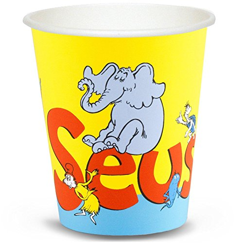 Dr. Seuss 9 oz. Paper Cups (8) - 1