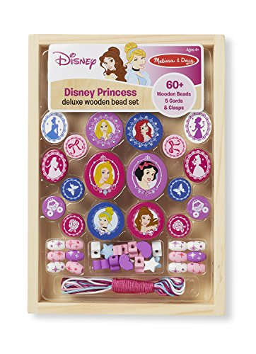 Disney Princess Deluxe Wooden Bead Set - 1