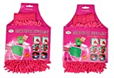 Microfibre Wash Handgloves - Pink Color by Premsons