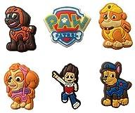 Paw Patrol Fridge Magnets 6 Pcs Set #1