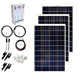 Grape Solar GS-300-CKIT-A 300W Solar Charging Kit for 12/24V Battery Banks