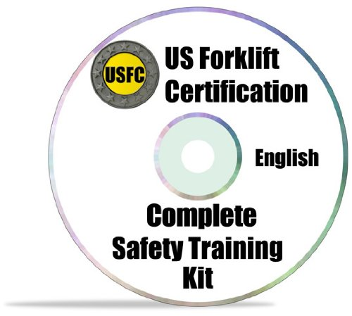 #1 Forklift Certification Kit - Everything You Need To Certify An Unlimited Number Of Operators - Get The Train-The-Trainer Course Free - A $95 Value