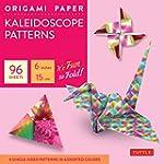 Origami paper kaleidoscope patterns s...