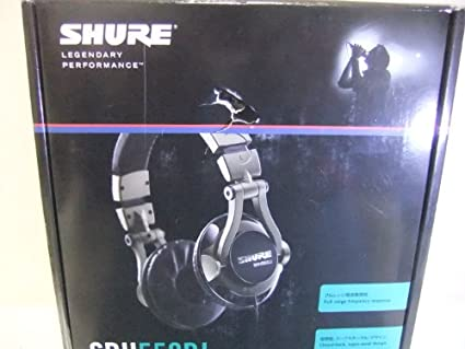 Shure SRH550DJ Over the Ear Headphones