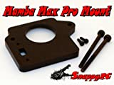 BLACK Snappy RC Mamba Max Pro Mounting Kit